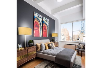 High Rise Luxury Tribeca Studio Apartment
