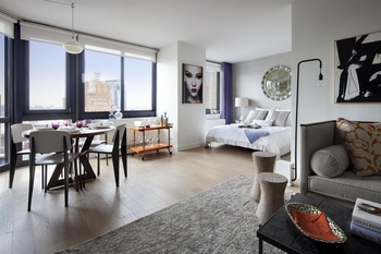 High Floor Luxury Studio Apartment In Tribeca